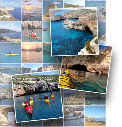 Gozo Kayaking and SIghtseeing Snapshots